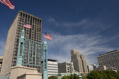 Downtown Saint Paul, Minnesota, on the Mississippi Royalty Free Stock Photo