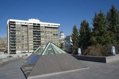 Downtown Salt Lake City Royalty Free Stock Photo