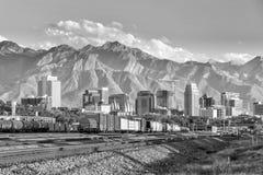 Downtown Salt Lake City, Utah Stock Photos