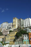 Downtown Salvador Brazil Skyline of Crumbling Infrastructure Stock Image
