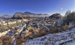 The downtown of Salzburg Royalty Free Stock Photography
