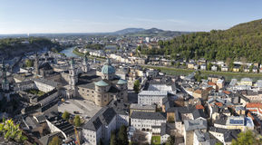 The downtown of Salzburg Royalty Free Stock Photos