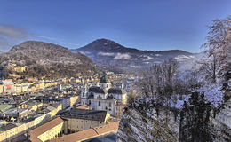 The downtown of Salzburg Royalty Free Stock Images
