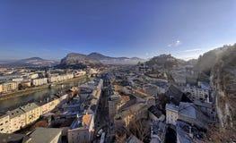 The downtown of Salzburg Stock Photos