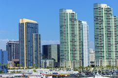 Downtown San Diego, California Royalty Free Stock Photography