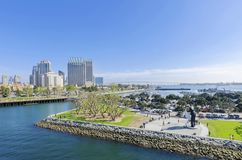 Downtown San Diego, California Royalty Free Stock Images
