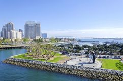 Downtown San Diego, California Stock Photography