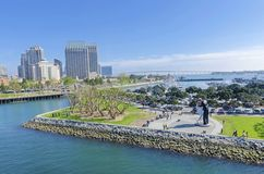 Downtown San Diego, California Royalty Free Stock Image