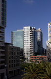 Downtown San Diego Office Buildings Royalty Free Stock Photos
