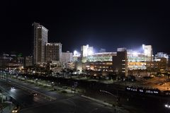 Downtown San Diego Petco Park Stock Image