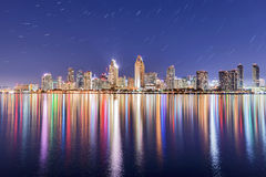 Downtown San Diego Skyline Stock Images