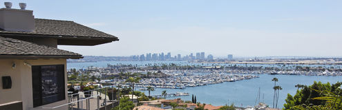 A Downtown San Diego View from Point Loma Stock Image