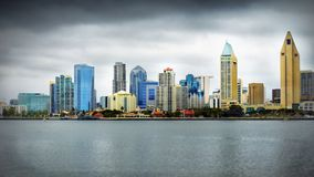 Downtown San Diego Seaside Cityscape royalty free stock photos