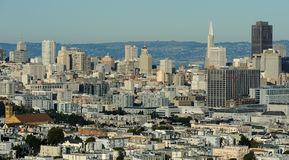Downtown San Francisco royalty free stock image