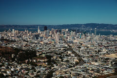 Downtown of San Francisco Royalty Free Stock Photo