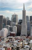 Downtown San Francisco Royalty Free Stock Image