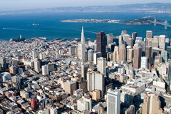 Downtown San Francisco, California Royalty Free Stock Photo