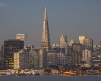 Downtown San Francisco in Early Morning Light 2 Royalty Free Stock Photo