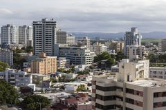Downtown San Juan Puerto Rico. Cityscape Stock Photography