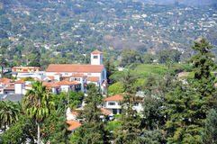 Downtown of Santa Barbara Stock Image