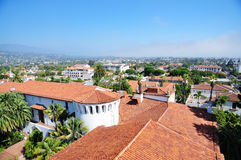 Downtown of Santa Barbara Stock Photo