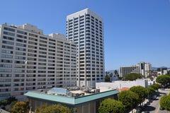 Downtown Santa Monica Stock Photography