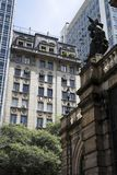 Downtown Sao Paulo Royalty Free Stock Photography