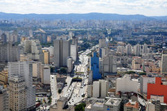 Downtown Sao Paulo, Brazil Royalty Free Stock Image
