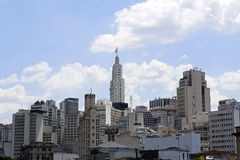 Downtown sao paulo, brazil Royalty Free Stock Photos
