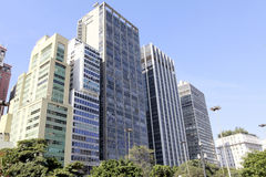 Downtown sao paulo brazil Stock Images