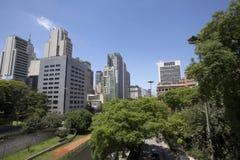 Downtown of sao paulo Stock Photography