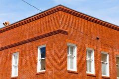 Downtown Savannah cityscape Royalty Free Stock Photography