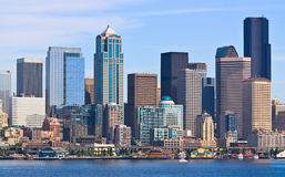 Downtown Seattle city skyline Royalty Free Stock Photography