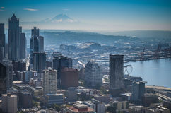 Downtown Seattle Royalty Free Stock Image