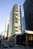 Downtown seattle office buidlings Royalty Free Stock Image