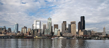 Downtown Seattle Skyline Royalty Free Stock Image