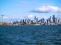 Downtown Seattle skyline Stock Photo