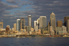Downtown Seattle Skyline Stock Images