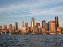 Downtown Seattle Skyline Royalty Free Stock Photography