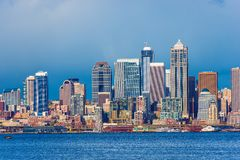Downtown Seattle Skyline Royalty Free Stock Images