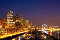 Downtown Seattle Stock Photos