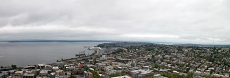 Downtown Seattle Washington Panorama Royalty Free Stock Images