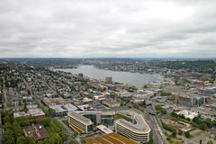Downtown Seattle Washington Panorama Royalty Free Stock Photo