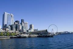 Downtown Seattle Waterfront Stock Photos