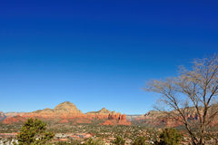 Downtown Sedona Arizona Royalty Free Stock Photography