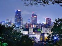 Downtown Sendai, Japan. Skyline of downtown Sendai, Japan Royalty Free Stock Photo
