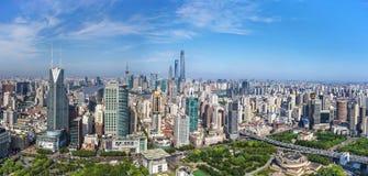 Downtown Shanghai Royalty Free Stock Photos