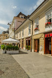 Downtown Sibiu Royalty Free Stock Photo