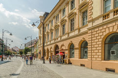 Downtown Sibiu Stock Photos