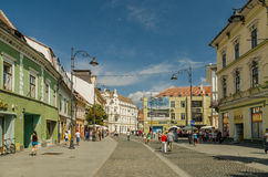 Downtown Sibiu Stock Photography